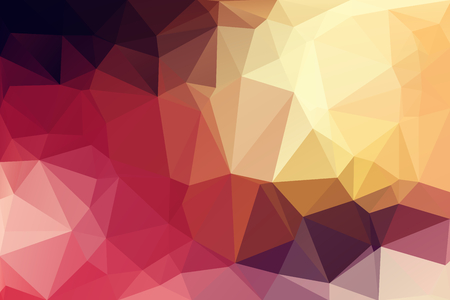 Colorful Low Polygon Random Triangle Abstract