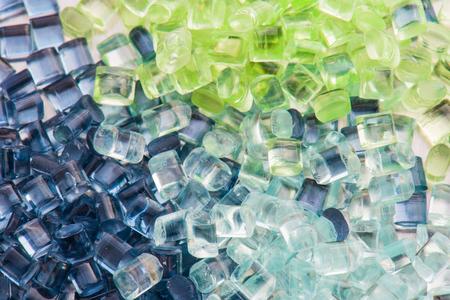 Photo pour three different tinted polymer resins - image libre de droit