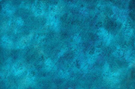 Foto de Watercolor blue background with crumpled texture - Imagen libre de derechos