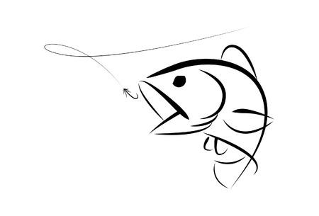 Graphic Fishing Bass