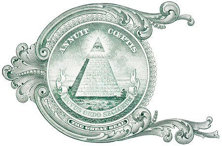 One dollar detail pyramid.