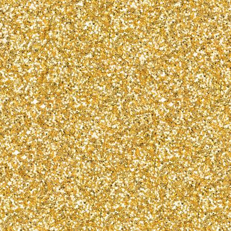 Foto de Golden glitter, sparkle confetti texture. Christmas abstract background. Ideal seamless pattern. - Imagen libre de derechos