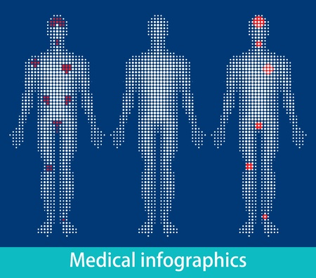 Medical info-graphics vector eps