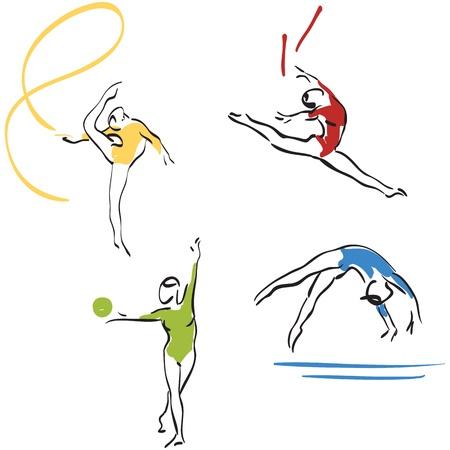 gymnastics collection - women