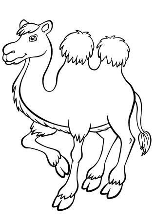 Camels Coloring Pages - Coloring Home | 450x318