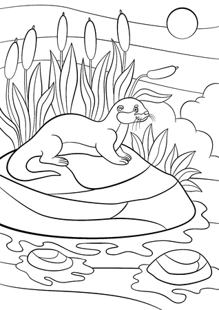 The valley of the mice - Mouses Adult Coloring Pages | 450x318