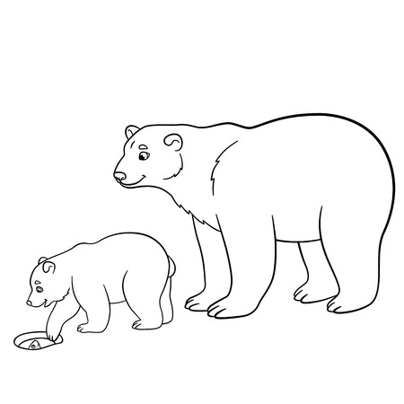 Coloring Page Tv Series Coloring Page The Little Polar Bear ...   450x450