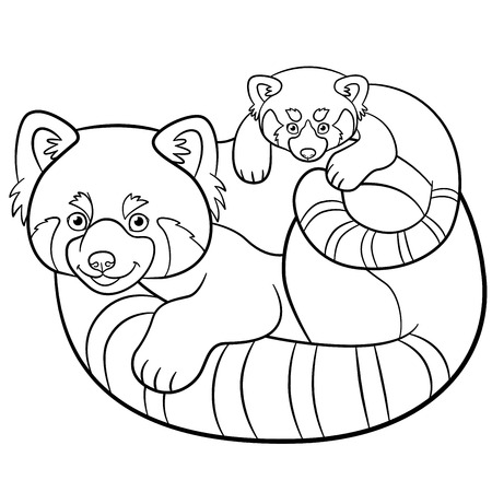 Baby Panda Coloring Pages Printable - Get Coloring Pages | 450x450