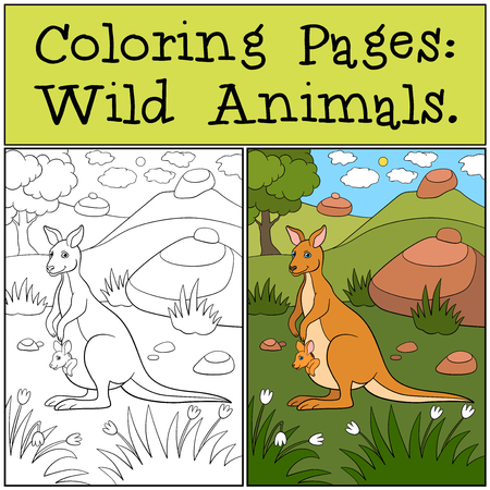 Top 25 Free Printable Wild Animals Coloring Pages Online | 450x450