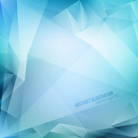 Ilustración de Abstract vector blue background with halftone texture.  - Imagen libre de derechos