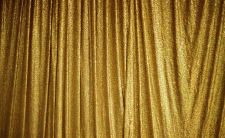 Photo pour Gold Peach Lace texture in fabric pattern background - image libre de droit