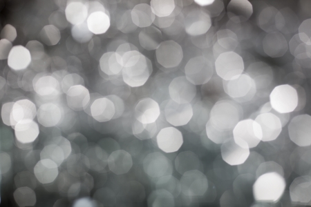 Abstract Christmas silver lights background