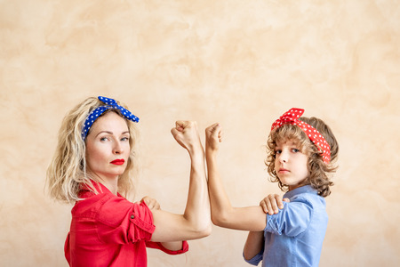 Foto per We can do it!  Woman's day. 8 March. Spring holiday concept. - Immagine Royalty Free