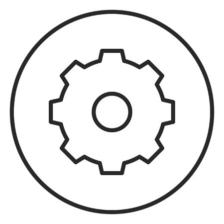 Photo pour Setting stroke icon, logo illustration. Stroke high quality symbol. - image libre de droit