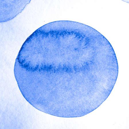Foto de Indigo Circle Pattern. Round Background. Color Artistic Confetti. Grunge Snow Design. Circle Textile. White Cool Abstract Painting. Circle Texture. Blue Retro Snow Design. - Imagen libre de derechos