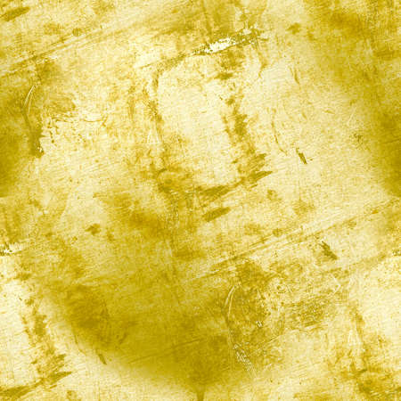 Vintage Paint Dirty Texture. Aged Old Wallpaper. Retro Stone Design. Rough Scratch. Distress Crack Background. Ancient Grunge Dust Effect. Grungy Grain Cement. Gold Abstract Dirty Texture.