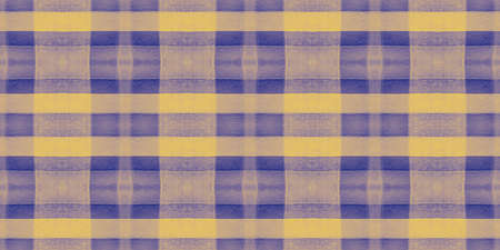Watercolor Textured Checks. Blue Square Flannel. Scottish Cloth Print. Seamless Buffalo Wallpaper. Abstract Textured Checks. Traditional Tweed. Yellow Stripe Repeat. Irish Textured Checks.