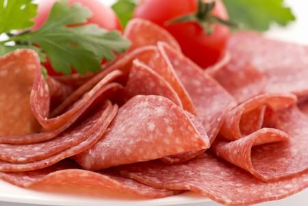 Salami with Tomato