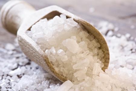 Sea Salt on a Shovel