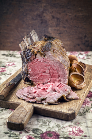Rib of Beef Cold Cut with Yorkshires