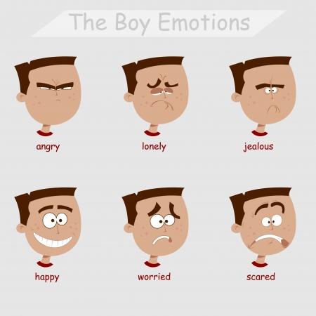 the boy emotions