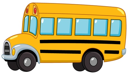 Illustration for School bus - Royalty Free Image