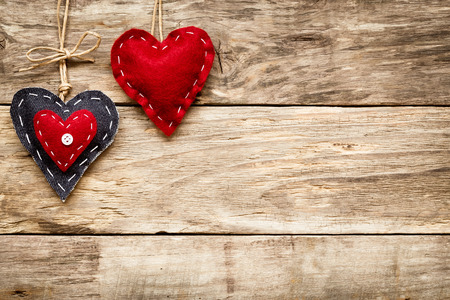 Photo for valentine's day love heart card - Royalty Free Image