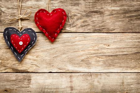 Photo pour valentine's day love heart card - image libre de droit
