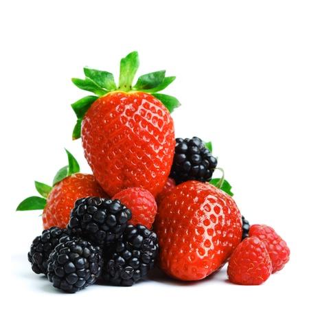 Foto für big berry pile isolated on white - Lizenzfreies Bild
