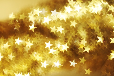 Photo for  golden star bokeh background close up - Royalty Free Image