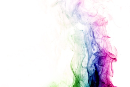 colored smoke abstract elegant background
