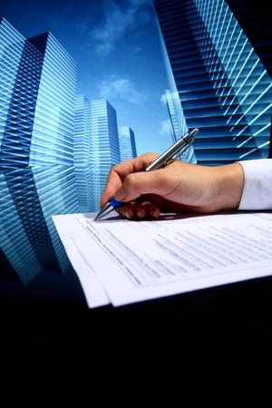 Photo pour  professional presentation business background - image libre de droit