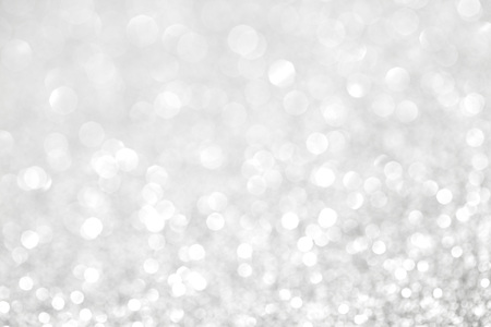 Photo for Abstract silver bokeh background with texture - Royalty Free Image