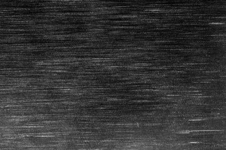 Photo for Black metal texture with white scratches. Abstract noise black background overlay for design. - Royalty Free Image