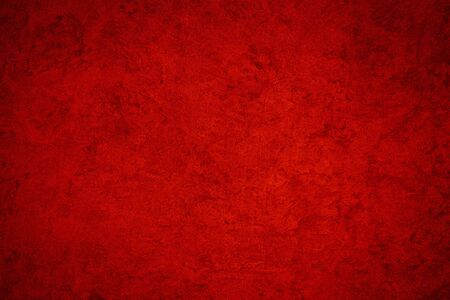 Foto für Texture of red decorative plaster or concrete. Abstract background for design. Art stylized banner with copy space for text. - Lizenzfreies Bild