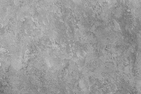 Foto de Texture of gray decorative plaster or concrete. Abstract background for design. Art stylized banner with copy space for text. - Imagen libre de derechos