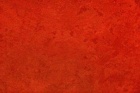 Foto für Texture of red decorative plaster or concrete. Abstract grunge background for design. - Lizenzfreies Bild