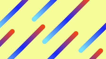 Illustration pour Funky Neon Blend Vector Background. Dreamy Neon Bright Trendy Landing Page. Iridescent Noble Vector Color Overlay. Trendy Colorful Vibrant Horizontal Banner. Vivid 80s Cool Gradient Neon Blend Cover. - image libre de droit