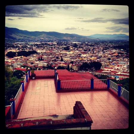 From the viewpoint of Oaxaca