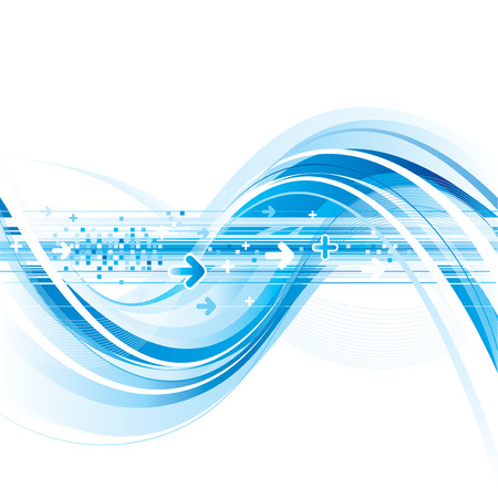 Abstract Technology internet connection background
