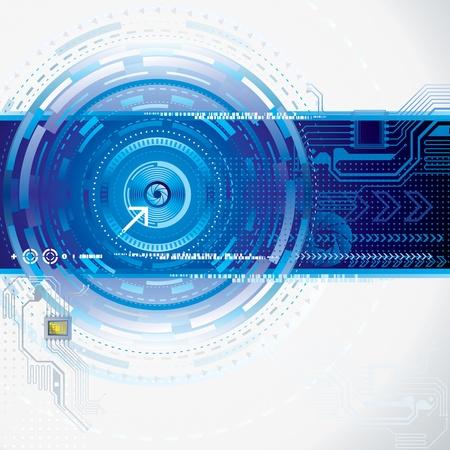 Illustration pour Abstract technology background. - image libre de droit