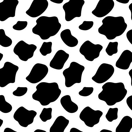 Ilustración de Cow Seamless Pattern Background Illustration - Imagen libre de derechos