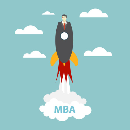 Business MBA Education Concept. Trends and innovation in education.