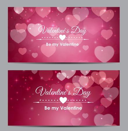 Ilustración de Valentine s Day Heart Symbol Gift Card. Love and Feelings Backgr - Imagen libre de derechos