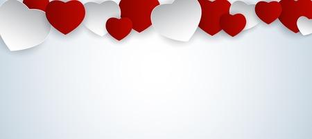 Ilustración de Valentine s Day Heart Symbol. Love and Feelings Background Desig - Imagen libre de derechos