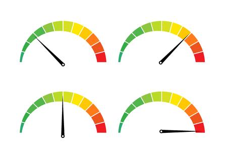 Ilustración de Speed test internet measure icon. - Imagen libre de derechos