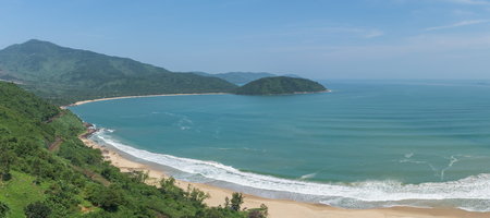 Lang Co Bay in Da Nang of Da Nang