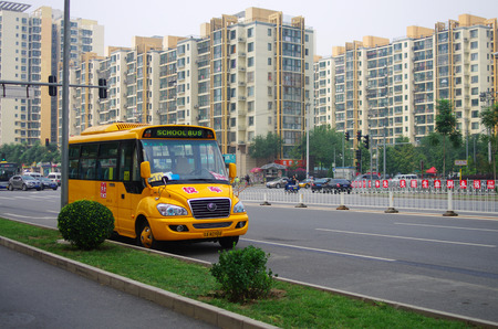 Beijing school bus
