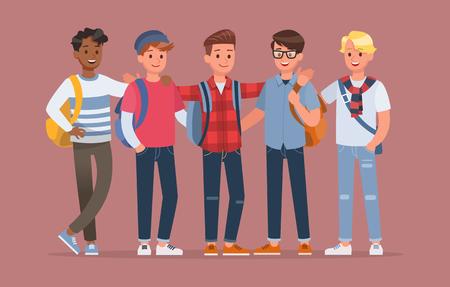 Vektor für student character vector design no4 - Lizenzfreies Bild