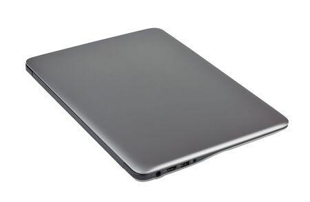 Photo pour Laptop isolated on white background - image libre de droit